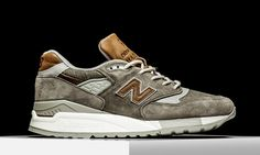 """The New Balance 997 returns in a new Made In USA tooling with this casual albeit premium """"Dusty Olive"""" look. New Balance's latest """"Made In USA"""" pack pays homage to the with a number of rustic brown and amber shades … Continue reading → Sneakers Mode, Best Sneakers, Casual Sneakers, White Sneakers, Sneakers Fashion, Casual Shoes, Fashion Shoes, Mens Fashion, Flats"""