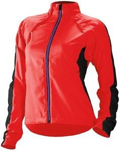 CANNONDALE Women's Morphis CYCLING Rain JACKET windproof, Coral Red - $109.95 - http://www.carbonframebikes.com/us/Nwt-Cannondale-Womens-Morphis.html