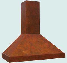 Copper  Range Hood  # 3214