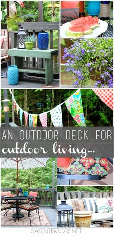 An Outdoor Deck for Outdoor Living