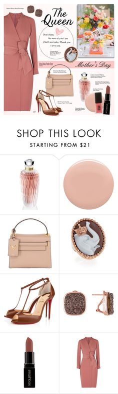 """""""Untitled #980"""" by louise-stuart ❤ liked on Polyvore featuring Lalique, Givenchy, Valentino, Amedeo, Christian Louboutin, Amour, Smashbox, MaxMara, Jin Soon and mothersdaygiftguide"""