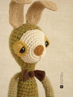 The bunny with the flexible ears #amigurumi