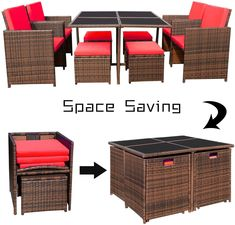 Patio furniture will extend your fun and relaxation time to your outside space. Within the key pieces, you can find for a patio, patio chairs are the number one and essential to have. Even if you don't have a table, a patio chair will always allow you to chill and enjoy the sun outdoors. And maybe invite some company over to sit down and talk. Patio Chairs, Patio Dining, Single Chair, Cushion Filling, Outdoor Living, Outdoor Decor, Patio Furniture Sets, Enjoying The Sun, Rattan