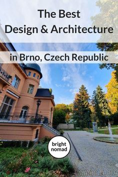 The Best Design & Architecture in Brno - Bright Nomad European Travel Tips, Europe Travel Guide, Travel Guides, Travelling Europe, Travel Deals, Backpacking Europe, Europe Destinations, Villa Tugendhat, Places To Travel