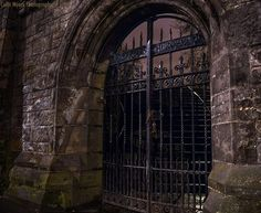 Medieval Gate, Edinburgh, Scotland photo via youmust...I LOVE THIS GATE!!!