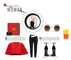 """""""Independent woman"""" by monikamihaly ❤ liked on Polyvore"""