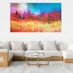XXL Abstracts Archives - Ivana Olbricht November Rain, Empty Wall, Next Door, Golden Color, Ivana, Abstract Landscape, Blinds, Landscapes, Interior