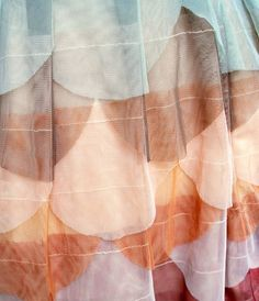 sew your own scaly tulle fabric.