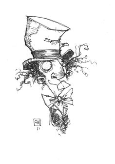 The Mad Hatter · Skottie Young