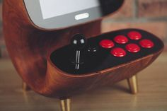 In true 8Bitdo fashion, the Wooden Retro Desktop Arcade brings to life the original gaming experience for current and future generations to enjoy.