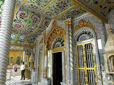 Jain Glass Temple of Nagaur is a complete glass temple which is situated behind the Kamla Tower.  This temple is a popular shrine of Jain community.   #India #Nagaur #Rajasthan #templesofindia #travel #jain #religion #trip #tour #yolo #usa #UCLA