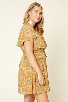 Plus Size Open Shoulder Dress Forever 21 PLUS