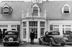 Monroe County Library System : Howard Johnson's Restaurant in Brighton N. Brighton Restaurants, Howard Johnson's, Christmas Shadow Boxes, Rochester New York, County Library, Retro Pop, Upstate New York, Local History, Old School