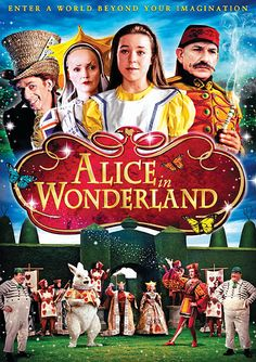 Hallmark's Alice in Wonderland (1999)  My FAVORITE Movie!! This is the Best Alice in Wonderland movie I have ever seen!