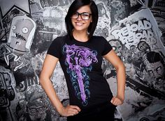J!NX : World of Warcraft Warlock Legendary Class Women's Tee