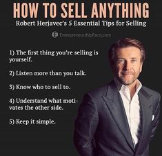 Image may contain: 1 person, suit and text – - Topic Money - Economics, Personal Finance and Business Diary Sales Motivation, Business Motivation, Business Quotes, Business Tips, Business Money, Motivation Success, Online Business, Leadership, Citations Business
