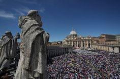 Missa de Páscoa, Praça e Basílica de São Pedro, Vaticano, Roma