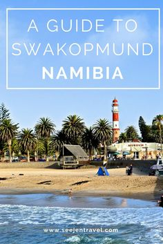 A Complete Guide to the German town of Swakopmund in Namibia. Click through to read the full post! Travel in Africa. Namibia Travel, Africa Travel, Travel Advice, Travel Guides, Travel Tips, Safari, Africa Destinations, Travel Destinations, Holiday Destinations