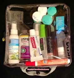Put Your Name on the Back of Your Toiletry Kit List
