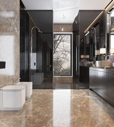 Elegant bathroom design with modern style.... | Visit : roohome.com #bathroom…