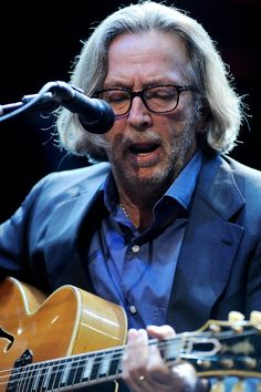 Eric Clapton at The Prince's Trust Rock Gala 2010.