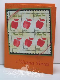 2008 Stamps by Stampin' Up! Faux postage technique