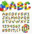 lego free font viele tolle Schriften für Lego Party Einladungen, oder Girlanden
