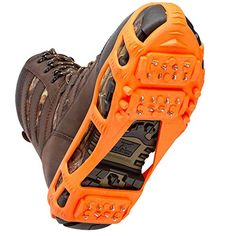 STABILicers Stabilicers Lite Ice CleatsOrangeM 7510 Mens  8512 Womens *** Click image to review more details. (Amazon affiliate link)