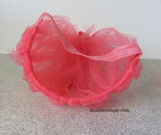 Make a troll headband with tulle and fold over elastic Diy Poppy Headband, Headband Wigs, Tulle Headband, Headband Hairstyles, Headbands, Diy Tutu Skirt, Crochet Tutu Dress, Troll Halloween Costume, Diy Halloween Costumes For Kids