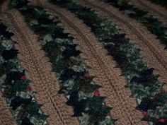 Basic Mile a Minute Crochet   ... other end wa la you have a mile a minute afghan close ups to of afghan