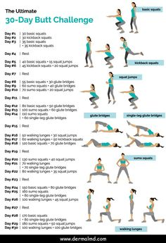 workout plan for beginners . workout plan to get thick . workout plan to lose weight at home . workout plan for men . workout plan for beginners out of shape . workout plan for beginners for women 30 Day Butt Challenge, Monthly Workout Challenge, Glute Challenge, Workout Calendar, Squat Challenge For Beginners, Crunch Challenge, Weekly Workout Schedule, Health Challenge, Weight Loss Challenge