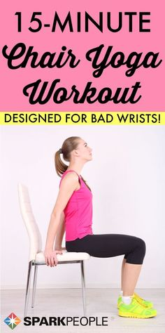 Finally: A Yoga Routine for Bad Wrists! Flex your body without messing up your wrists. | via @SparkPeople