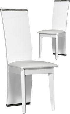 Lot de 4 chaises design médaillon LOUISON gris fumé transparente