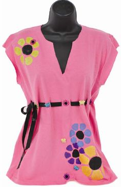 Dress It Up® Fun Flower T-Shirt