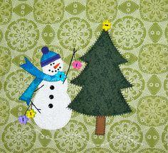 BOM Christmas Mug Rugs, Christmas Blocks, Christmas Quilt Patterns, Christmas Quilting, Quilt Block Patterns, Quilt Blocks, Christmas Ideas, Christmas Crafts, Hand Applique