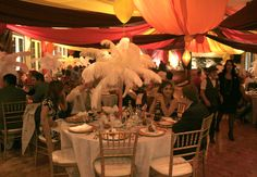 circus weddind   ... circus-themed decorations. Many of the guests were also in circus