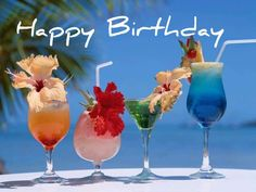 Birthday Cheers, Happy Birthday, Cocktail Fruit, Bakery Packaging, Color Collage, Enjoy Your Weekend, Summer Wallpaper, Group Meals, Summer Cocktails