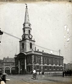 St. George the Martyr, Borough c.1910.