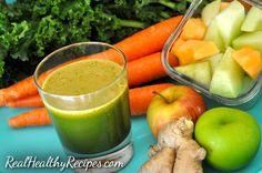 Healthy juicing recipe