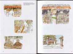 Spirited Away: 038 Miyazaki Spirited Away, Hayao Miyazaki, Spirit World, Fantasy Films, Ova, Studio Ghibli, Book Art, Vintage World Maps, Animation