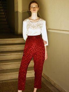 Samantha Sotos - womenswear ready to wear collection. Ready To Wear, Fall Winter, Women Wear, How To Wear, Pants, Clothes, Collection, Fashion, Trouser Pants