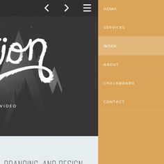 40 Beautiful and Effective Responsive Navigation Menus