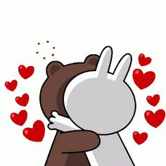 The perfect Cony Brown ConyAndBrown Animated GIF for your conversation. Discover and Share the best GIFs on Tenor. Cute Couple Cartoon, Cute Love Cartoons, Cartoon Pics, Love You Gif, Cute Love Gif, Dank Gifs, Calin Gif, Coeur Gif, Cony Brown