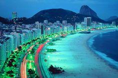 Fondo pantalla Playa Copacabana