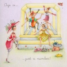 Age Is Just A Number Birthday Berni Parker Designs Card Happy Birthday Quotes, Happy Birthday Images, Happy Birthday Wishes, Birthday Greetings, It's Your Birthday, Birthday Cards, Crazy Friends, Happy B Day, Jolie Photo