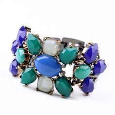 Bleu Fleur Bracelet