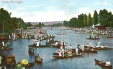 original 1907 postcard The Course HENLEY Oxfordshire