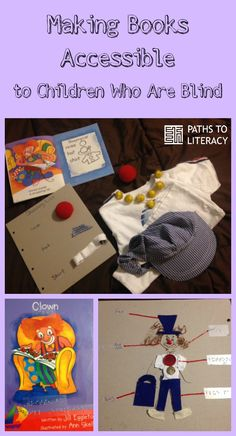 Tips to make print books accessible to tactile readers using braille and tactile symbolsTap the link to check out great fidgets and sensory toys. Check back often for sales and new items. Happy Hands make Happy People! Tactile Activities, Book Activities, Interactive Stories, Interactive Learning, Braille, Sensory Book, Learning Support, Special Kids, Early Literacy