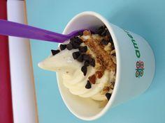 Frozen yogurt that I've consumed in 2012