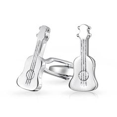 Purchase Musician Musical Instrument Acoustic Guitar Shirt Cufflinks For Men For Women Hinge Back Silver Tone Steel from Bling Jewelry Inc on OpenSky. Share and compare all Jewelry. Acoustic Guitar Tattoo, Acoustic Guitar Case, Stainless Steel Plate, Guitar Design, Bling Jewelry, Musical Instruments, Cufflinks, Plating, Guitar Cake